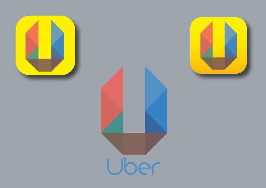 Contest Entry #                                        81                                      for                                         Design Challenge: Submit Your Own Version of Uber's New App Icon