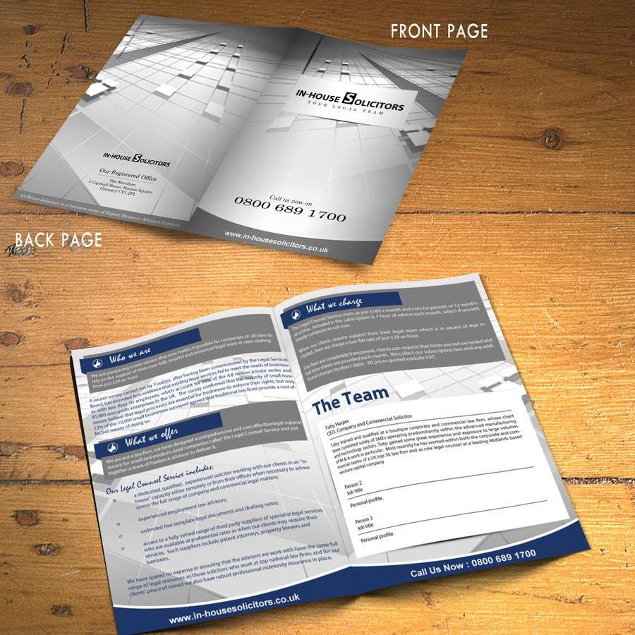 Bài tham dự cuộc thi #9 cho Design a changeable brochure for my business