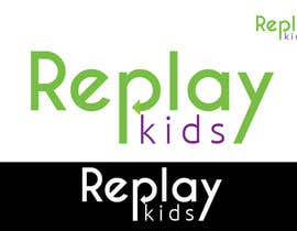 #6 para Design a Logo for Replay Kids por umamaheswararao3
