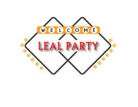 #37 para Design a Logo for Leal Party por vineshshrungare