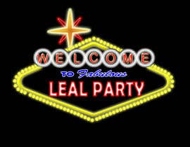 #24 para Design a Logo for Leal Party por emailcomp21