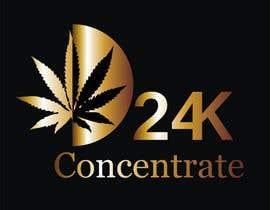 #45 for Design logo for 24K Concentrate af fb564fa207c95ab