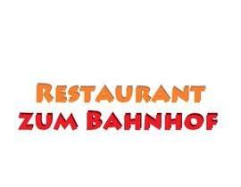 #54 untuk Design eines Logos for Restaurant zum Bahnhof oleh sandanimendis