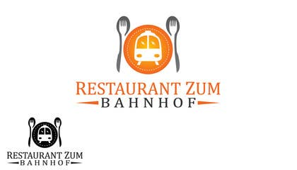 #67 for Design eines Logos for Restaurant zum Bahnhof by ammari1230