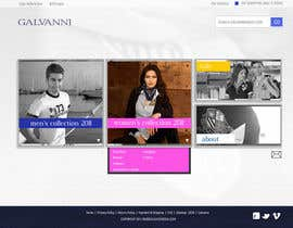 #44 para Website Design for Galvanni de Niccolo