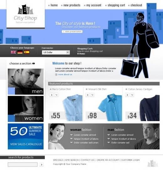 Inscrição nº 53 do Concurso para Website Design for Galvanni