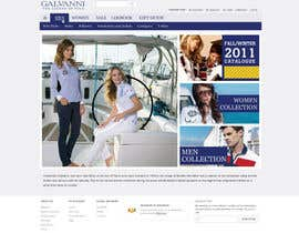 nº 42 pour Website Design for Galvanni par tuanrobo