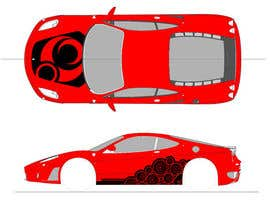 nº 3 pour Design Car Vinyl/Sticker for Ferrari F430 par toderascnd