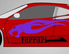 nº 12 pour Design Car Vinyl/Sticker for Ferrari F430 par sreesiddhartha