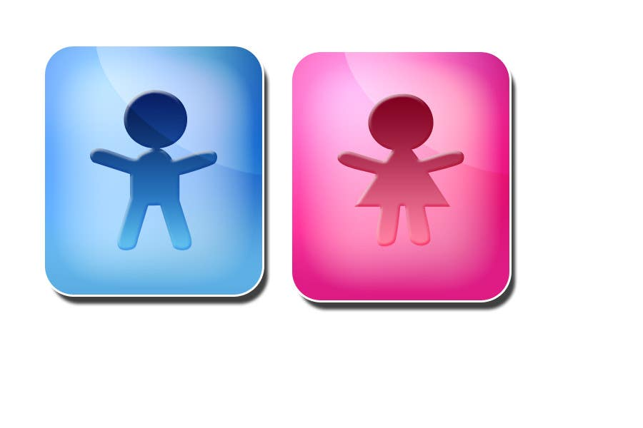 #24 for Design some contemporary male and female Icons by ioska