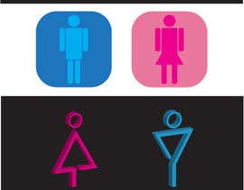 #55 for Design some contemporary male and female Icons by sainil786