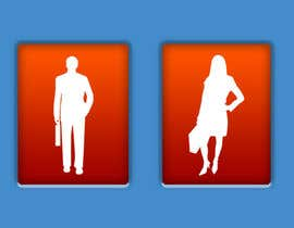 #43 for Design some contemporary male and female Icons by mzovko