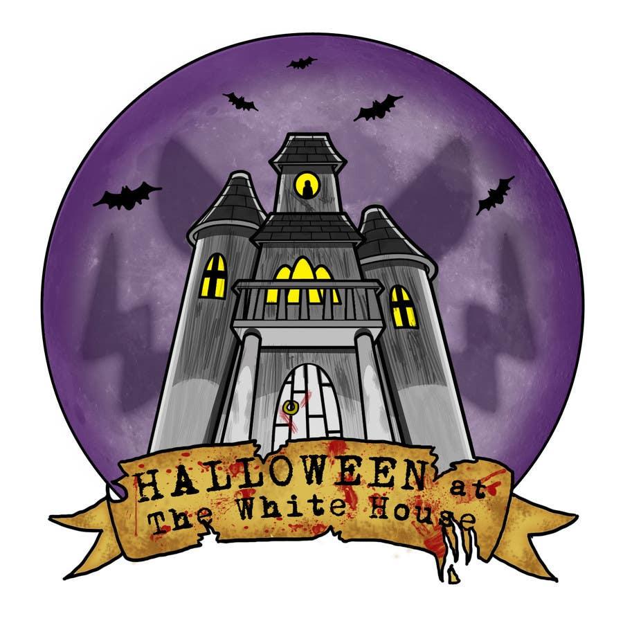 Penyertaan Peraduan #45 untuk Design a Logo for halloween party
