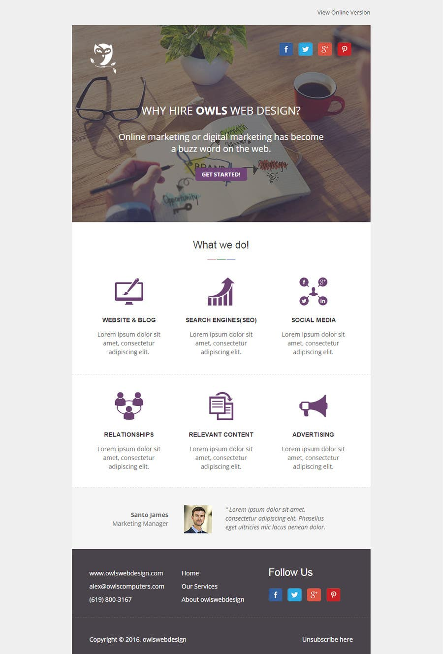 Top Entries - Design 4 different Email Marketing Templates to use ...