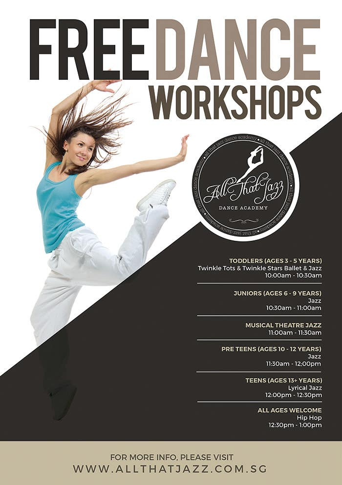 Entry 16 By Rimskik For Open House Flyer For Dance Studio Freelancer