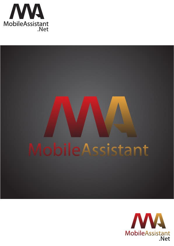 Proposition n°30 du concours MobileAssistant.Net Logo **Hiring new Designers too That Love Awesome Design