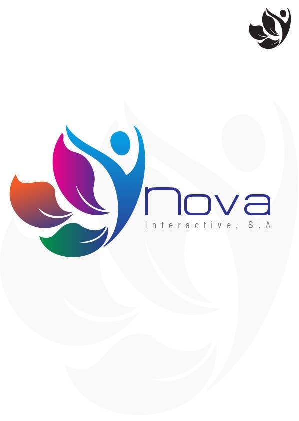 Inscrição nº 143 do Concurso para Design a Logo for NOVA INTERACTIVE