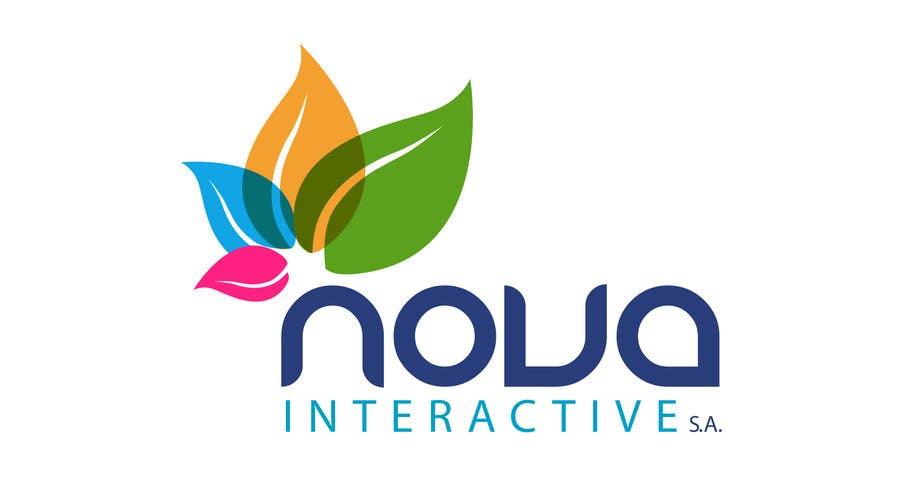 Inscrição nº 147 do Concurso para Design a Logo for NOVA INTERACTIVE