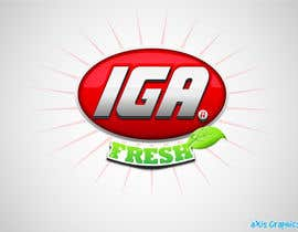 #160 cho Logo Design for IGA Fresh bởi arunbluez