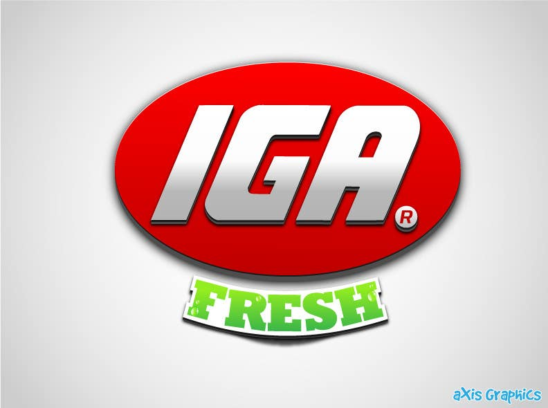 #132 for Logo Design for IGA Fresh by arunbluez