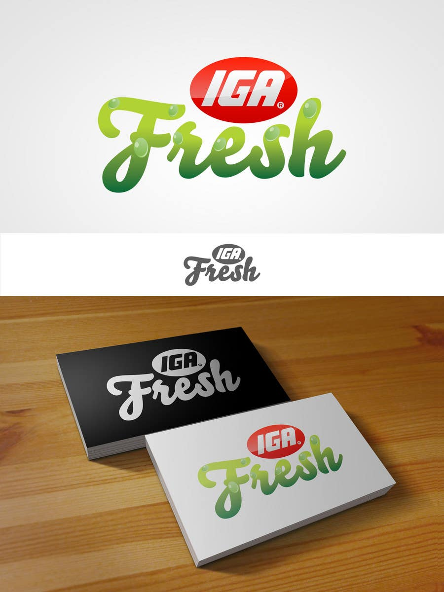 Конкурсная заявка №128 для Logo Design for IGA Fresh