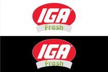 Graphic Design Kilpailutyö #15 kilpailuun Logo Design for IGA Fresh