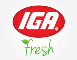 #156 for Logo Design for IGA Fresh af jennfeaster