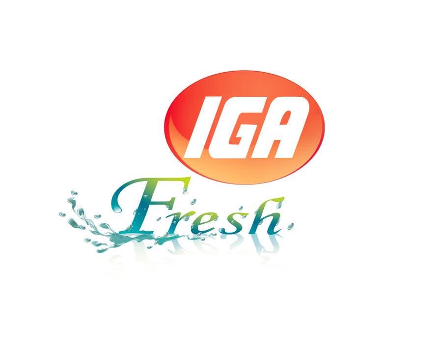 #130 for Logo Design for IGA Fresh by santico