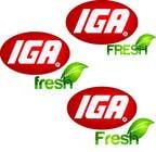 Graphic Design Inscrição do Concurso Nº146 para Logo Design for IGA Fresh