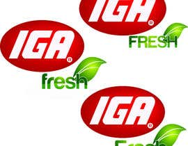 #146 cho Logo Design for IGA Fresh bởi rivera919