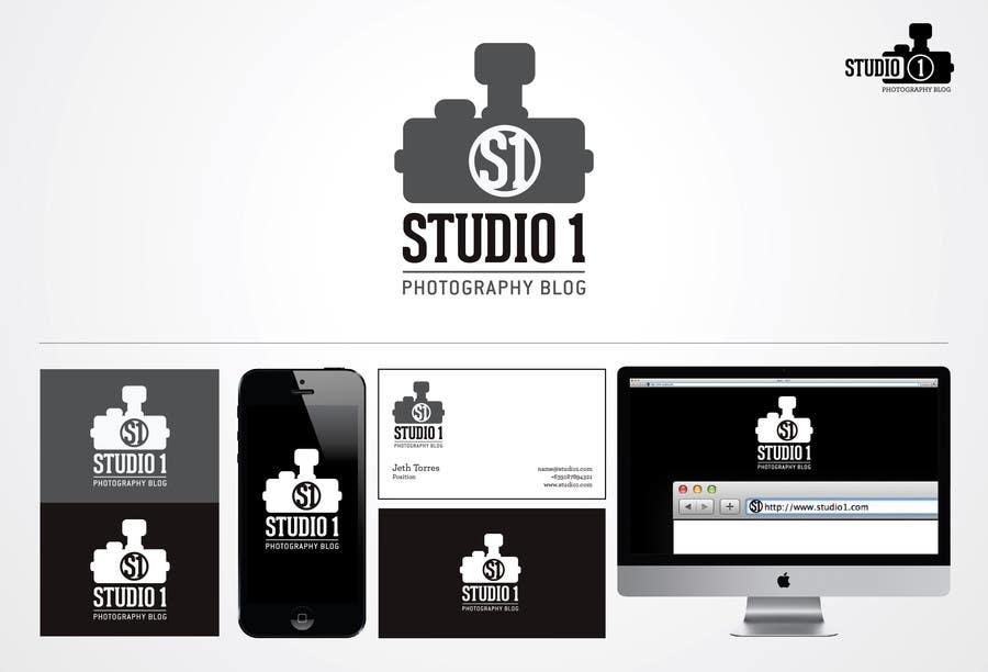 Kilpailutyö #61 kilpailussa Design a Logo for Studio 1 Photography