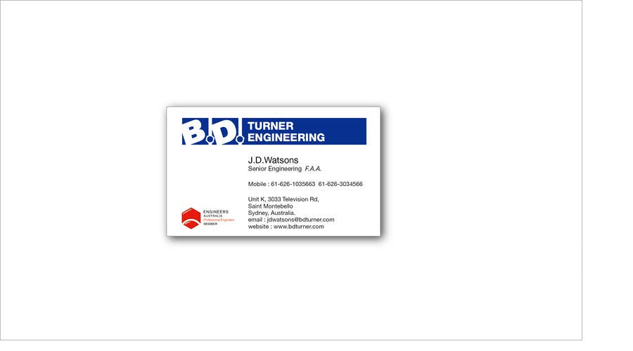 #17 for Design a Logo and business card for an Electrical Engineer by davidliyung