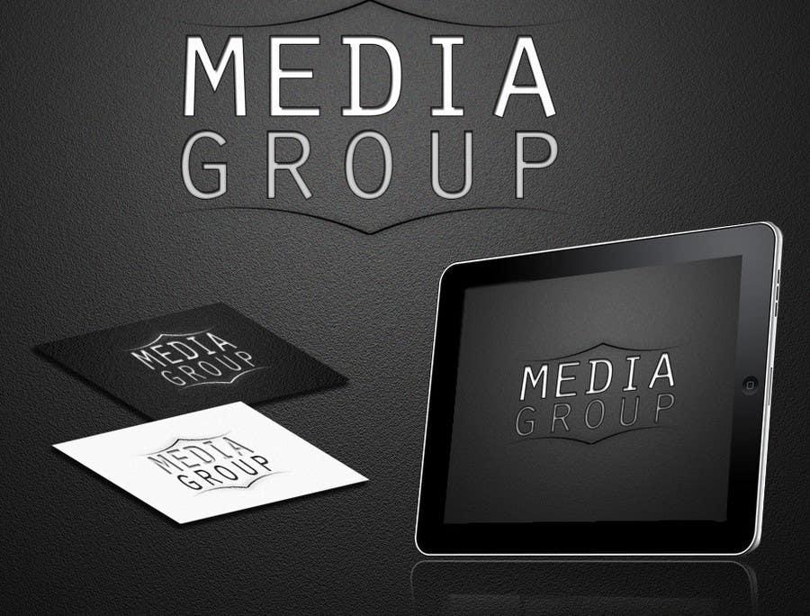 "Penyertaan Peraduan #26 untuk Design a Logo for my team with title is ""media-group"""