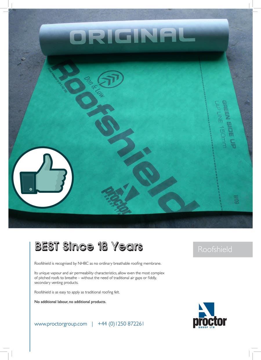 Bài tham dự cuộc thi #                                        67                                      cho                                         Design an Advertisement for Roofshield 2