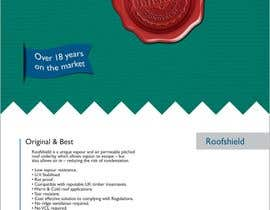 #48 untuk Design an Advertisement for Roofshield 2 oleh F5DesignStudio