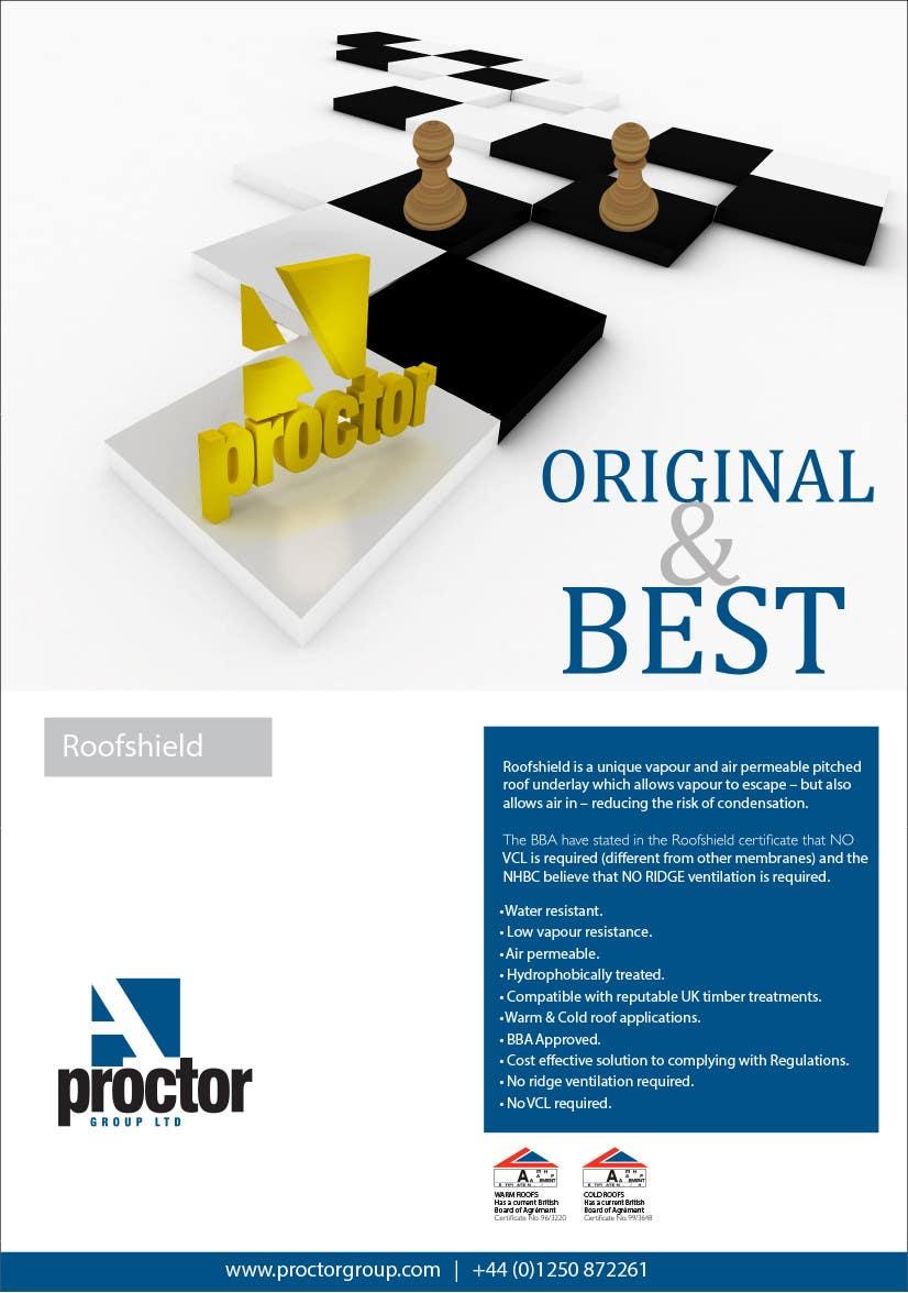 Bài tham dự cuộc thi #                                        70                                      cho                                         Design an Advertisement for Roofshield 2