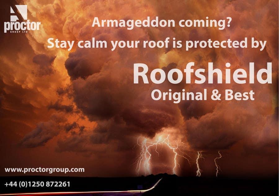 Bài tham dự cuộc thi #                                        10                                      cho                                         Design an Advertisement for Roofshield 2