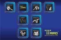 Graphic Design Kilpailutyö #344 kilpailuun Logo Design for Triad Semiconductor