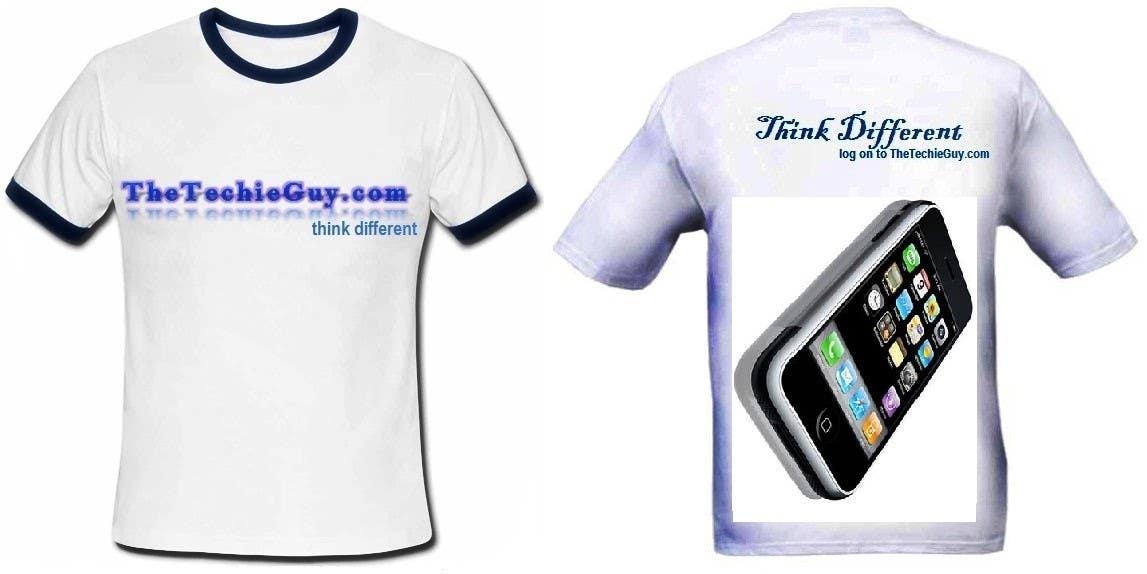 Конкурсная заявка №                                        2                                      для                                         T-shirt Design for TheTechieGuy.com