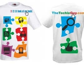 #72 for T-shirt Design for TheTechieGuy.com by zackushka