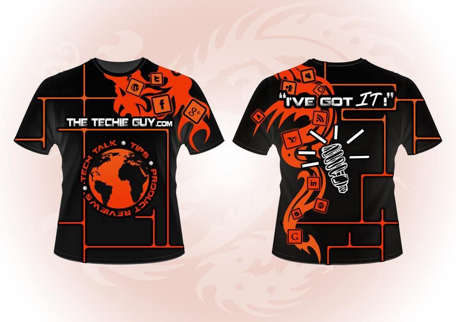 Inscrição nº                                         30                                      do Concurso para                                         T-shirt Design for TheTechieGuy.com