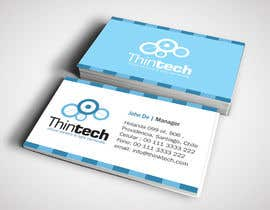 nº 13 pour Business card design par linokvarghese