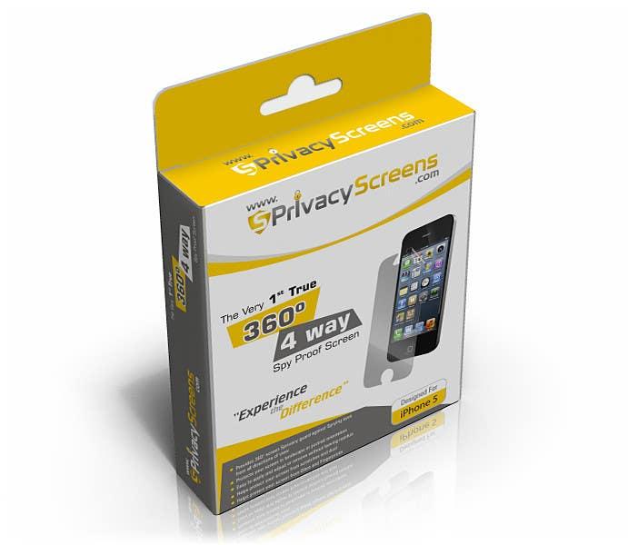 #3 for Corporate Branding Retail Box Design for www.SPrivacyscreens.com by suneshthakkar
