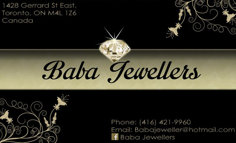Entry 14 by ahtoah for design some business cards for jewelry store contest entry 14 for design some business cards for jewelry store reheart Gallery