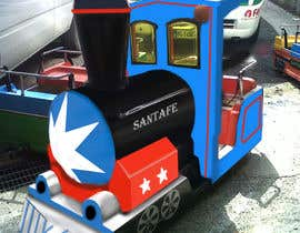#20 para Kiddie Train Ride new Graphic Design por wangshan