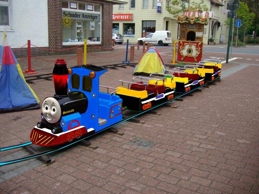 Bài tham dự cuộc thi #23 cho Kiddie Train Ride new Graphic Design