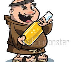 #26 for ILLUSTRATION / CARICATURE OF A MONK BREWER. af kiekoomonster