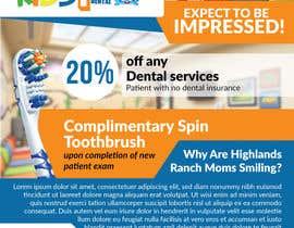 samzTer24 tarafından Design a Flyer for Kids Dentistry -- 2 için no 21