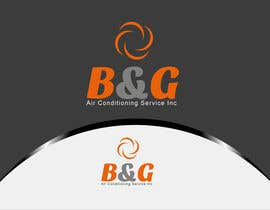 #45 untuk Design a Logo for B&G Air Conditioning Service Inc oleh woow7
