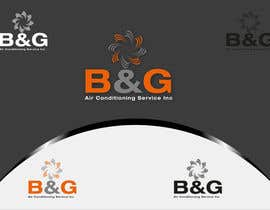 #48 untuk Design a Logo for B&G Air Conditioning Service Inc oleh woow7